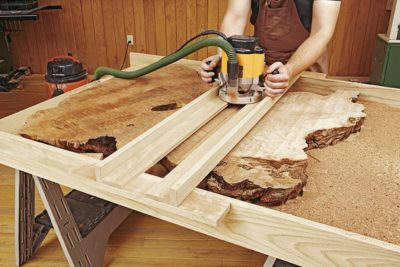 How to Work With Natural-Edge Slabs